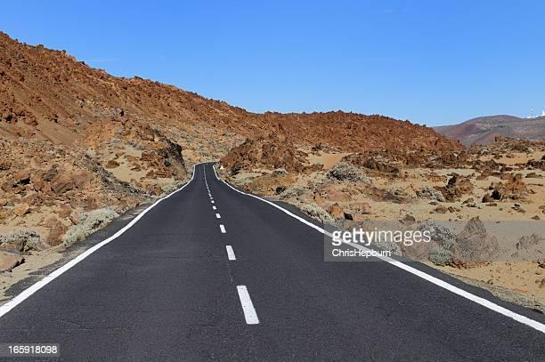 Strada del deserto, Tenerife