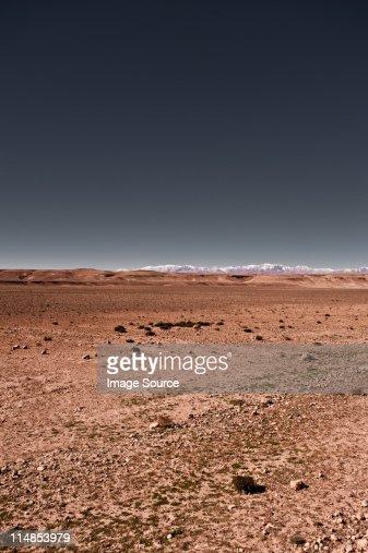 Desert scene, Ouarzazate, Morrocco