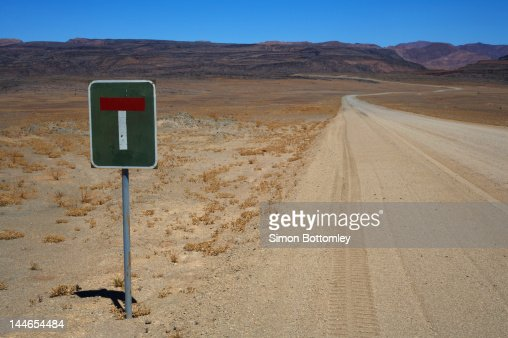 Desert Sign Post.