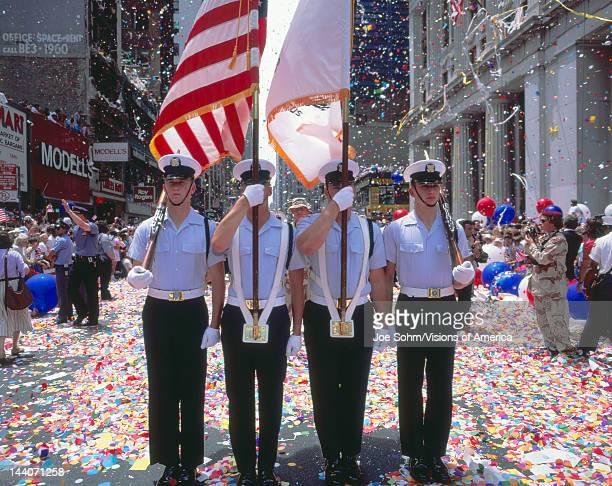Desert Storm Victory Military Parade Washington DC