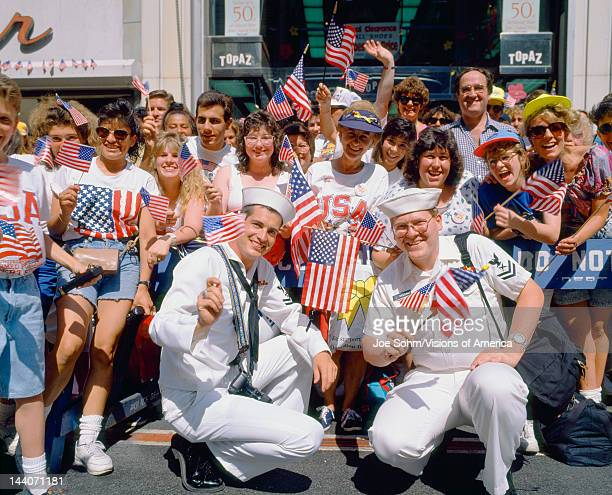 Desert Storm Victory Tickertape Parade New York City
