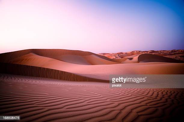 Desert Twilight Rub' al Khali of Abu Dhabi, UAE