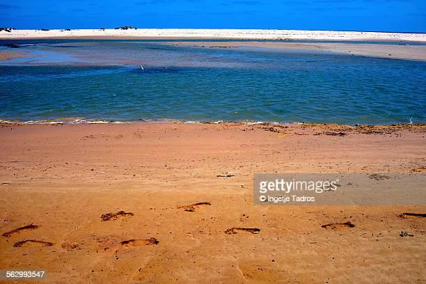 Deserted beach in Australia's NW
