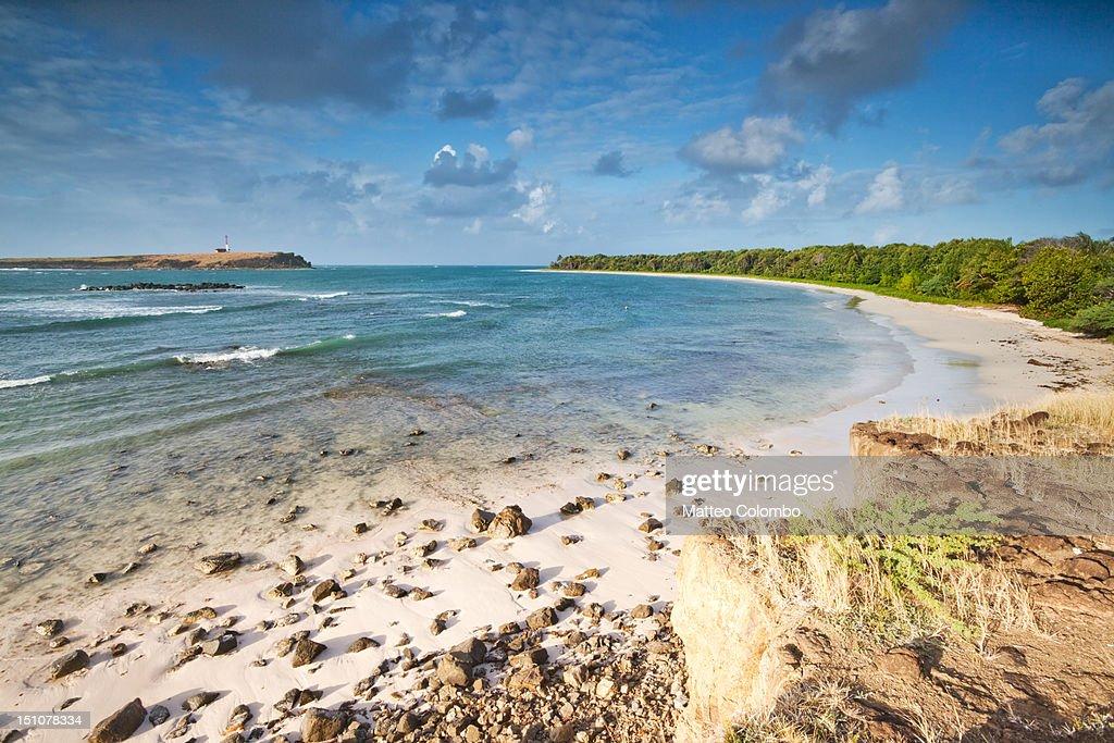 Deserted beach : Stock Photo