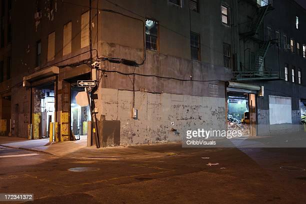 続くブルックリンダンボ Backstreet 夜