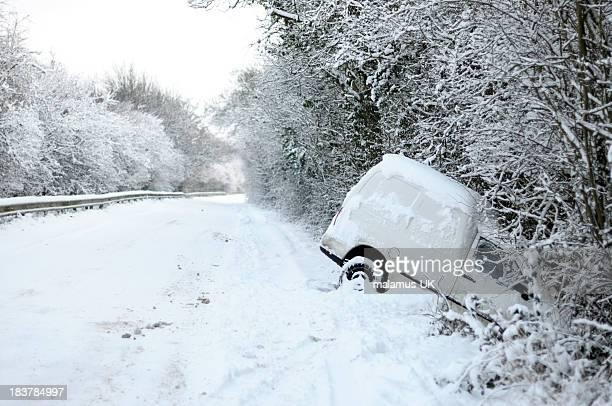 Deserted motor vehical accident