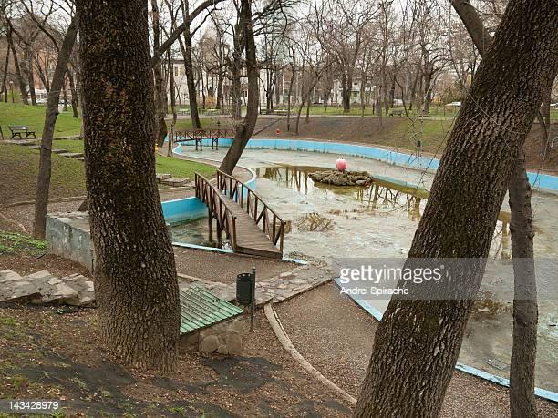 Deserted park