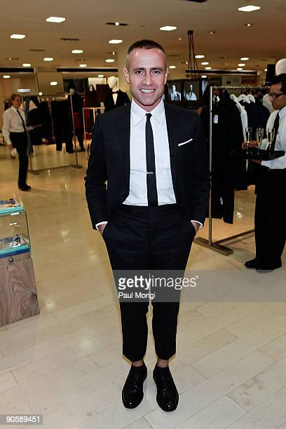 Desginer Thom Browne at the Barneys New York celebration for Fashion's Night Out at Barneys New York on September 10 2009 in New York City
