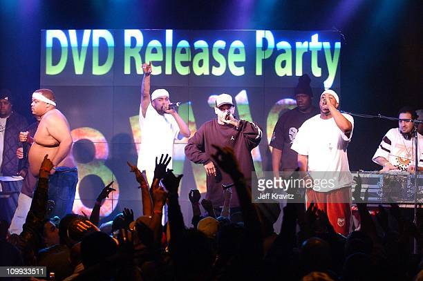 Deshaun Holton AKA Proof of D12 and Eminem during Universal 8 Mile DVD Release Party at Saint Andrew's Hall in Detroit MI United States