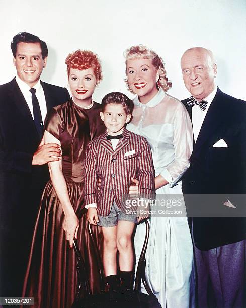 Desi Arnaz Cuban musician and actor Lucille Ball US comedian and actress Keith Thibodeaux US child actor Vivian Vance US actress William Frawley US...