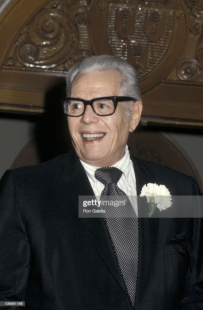 Desi Arnaz during Jimmy Durante's Funeral at Good Shepard Church in Beverly Hills, California, United States.