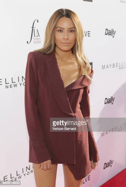Desi Perkins attends the Daily Front Row's 3rd Annual Fashion Los Angeles Awards at Sunset Tower Hotel on April 2 2017 in West Hollywood California
