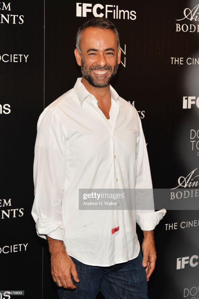Desiger Francisco Costa attends the Downtown Calvin Klein with The Cinema Society screening of IFC Films' 'Ain't Them Bodies Saints' at the Museum of...