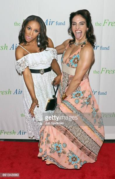 Desiger June Ambrose and Shari Loeffler attend the 2017 Fresh Air Fund Spring Benefit at Pier Sixty at Chelsea Piers on June 1 2017 in New York City