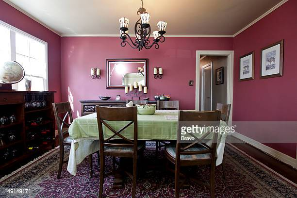 LEWIS 'Design Bully' Episode 109 Pictured Dining room before renovation