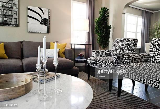 LEWIS 'Design Bully' Episode 109 Pictured Living room after renovation