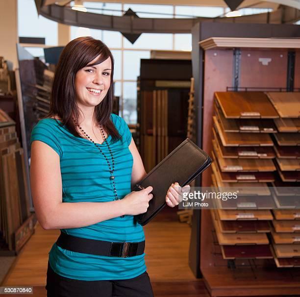 Design Consultant In A Retail Flooring Store; Edmonton, Alberta, Canada