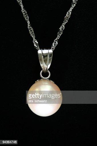 Design-Element: Weiße Perlen