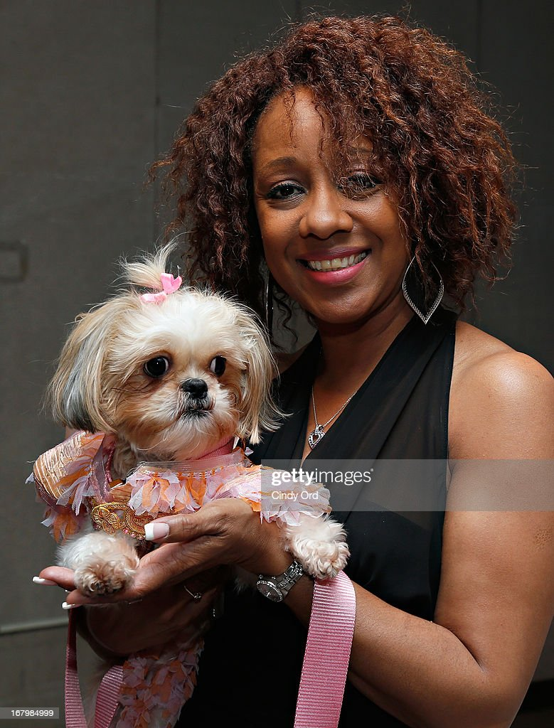 A design student attends the FIT's Fifth Annual Pet Apparel and Accessories Fashion Show at The Fashion Institute of Technology on May 3, 2013 in New York City.