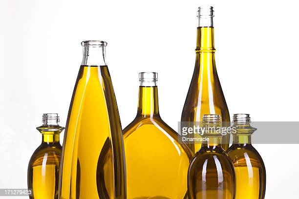 Design With Olive Oil in Bottles Horizontal