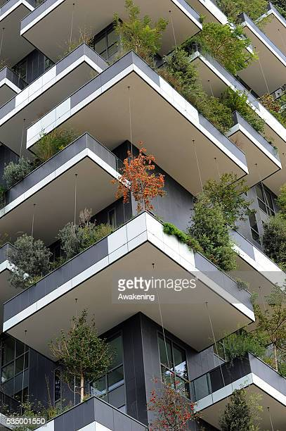 Designed by Boeri Studio Bosco Verticale is a towering 27story structure home to the world's first vertical forest