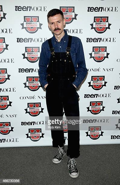 Designer Adam Selman attends Teen Vogue's 10th Annual Fashion University on March 14 2015 in New York City