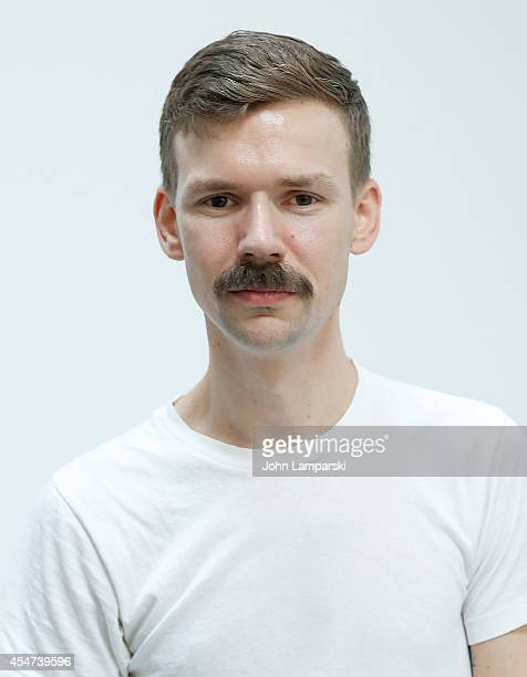 Designer Adam Selman attends the Adam Selman Presentation MercedesBenz Fashion Week Spring 2015 at Algus Greenspon Gallery on September 5 2014 in New...