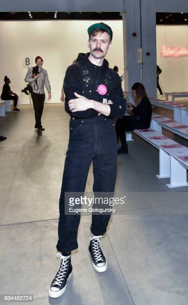 Designer Adam Selman attends the Adam Selman show during February 2017 New York Fashion Week Presented By MADE at Gallery 2 Skylight Clarkson Sq on...