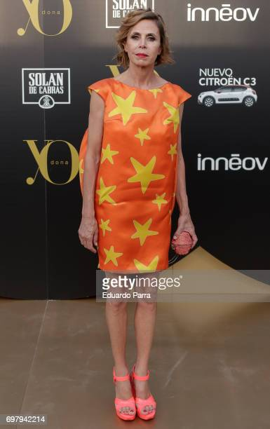 Designer Agatha Ruiz de la Prada attends the 'Yo Donna International Awards' photocall at Duques de Pastrana palace on June 19 2017 in Madrid Spain