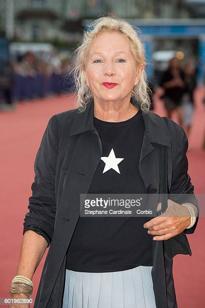 Designer Agnes B attends the Closing Ceremony of the 42nd Deauville American Film Festival on September 10 2016 in Deauville France