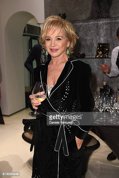 Designer Alberta Ferretti attends La Vendemmia 2016 The World's Finest Wine Lifestyle Experience on October 6 2016 in Milan Italy