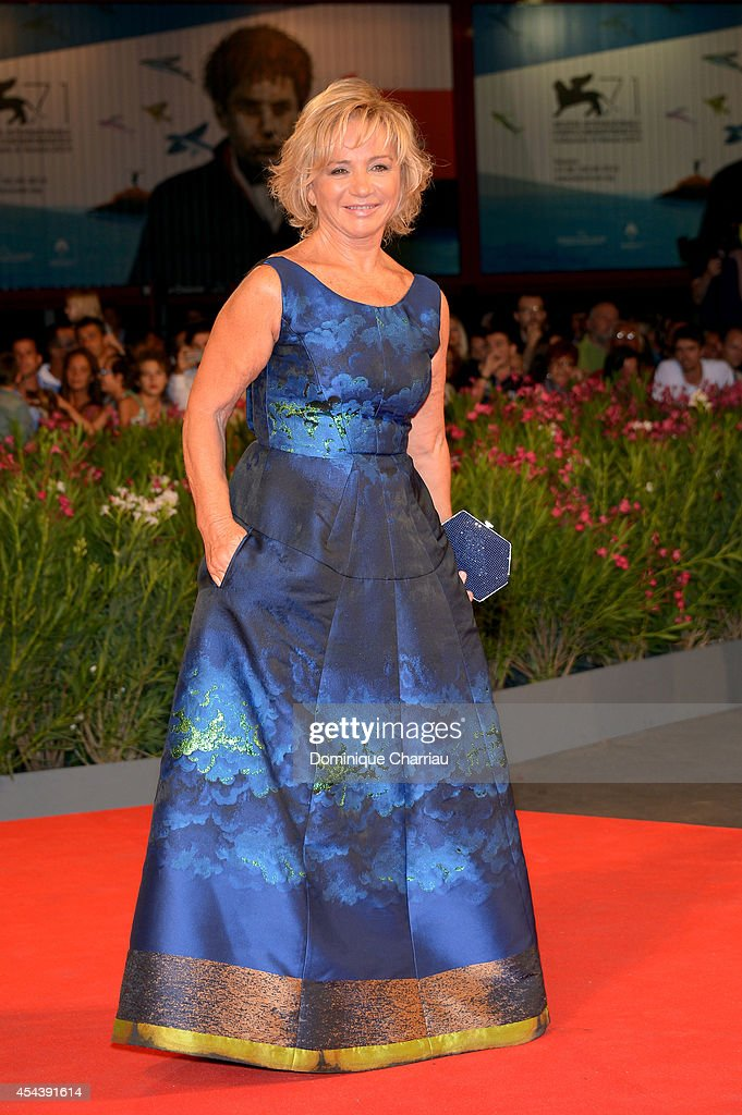 Designer Alberta Ferretti attends the 'The Humbling' premiere during the 71st Venice Film Festival on August 30, 2014 in Venice, Italy.