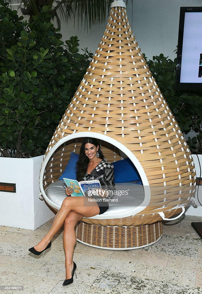 Designer Alena Capra attend AD Oasis at James Royal Palm Hotel on December 7, 2013 in Miami Beach, Florida.