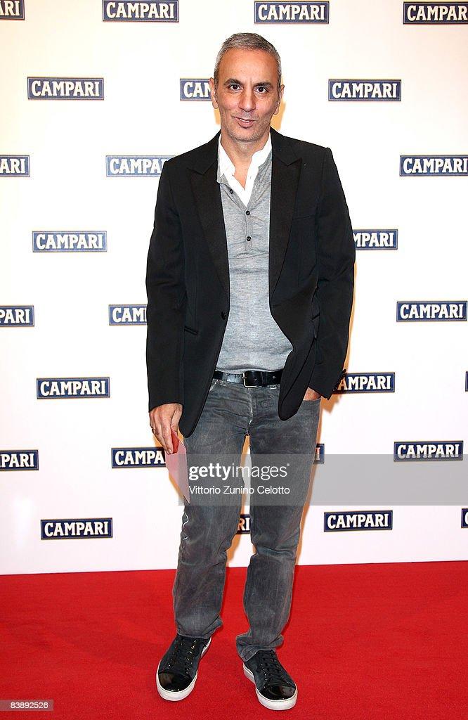 Designer Alessandro Dell'Acqua attends the Club Campari, 2009 Campari Calendar launch at La Permanente on December 2, 2008 in Milano, Italy.