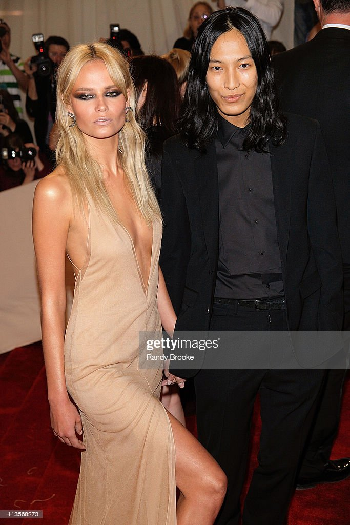 Designer Alexander Wang (R) and guest attend the 'Alexander McQueen: Savage Beauty' Costume Institute Gala at The Metropolitan Museum of Art on May 2, 2011 in New York City.