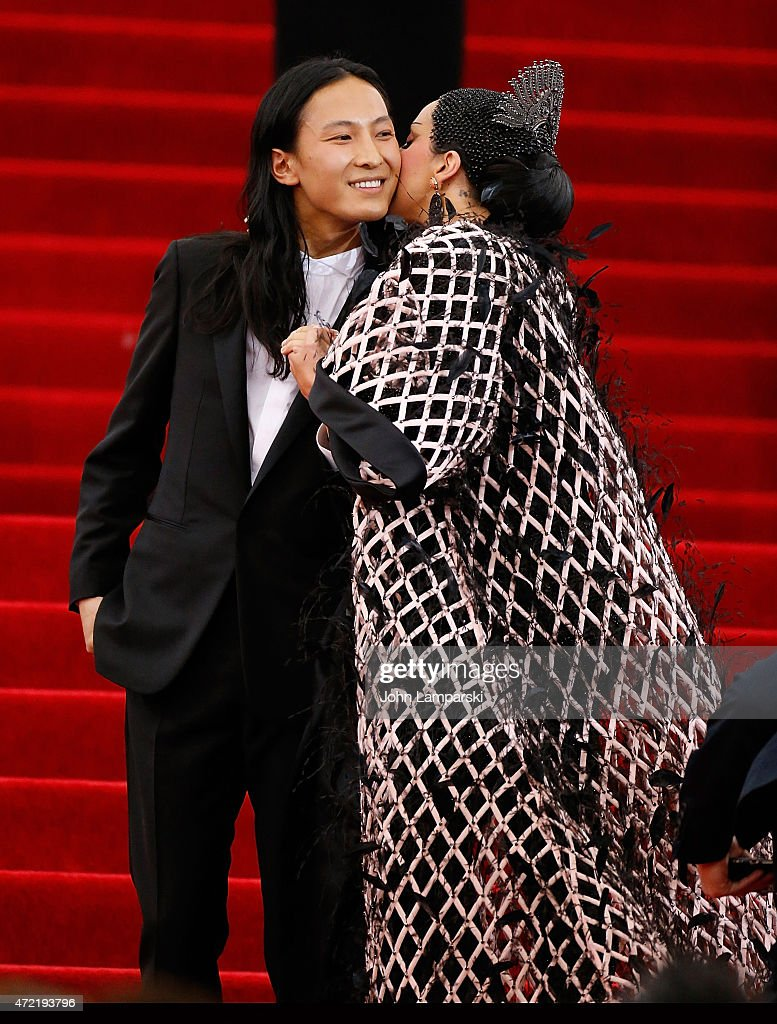 Designer Alexander Wang and Lady GaGa attend 'China Through The Looking Glass' Costume Institute Benefit Gala at Metropolitan Museum of Art on May 4...