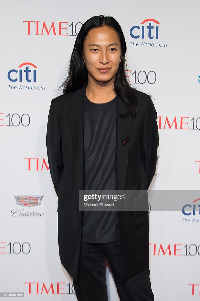 Designer Alexander Wang attends the 2016 Time 100 Gala at Frederick P Rose Hall Jazz at Lincoln Center on April 26 2016 in New York City