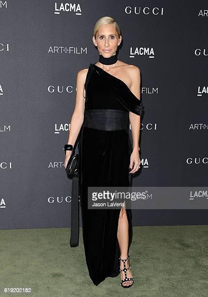 Designer Alexandra Von Furstenberg attends the 2016 LACMA Art Film gala at LACMA on October 29 2016 in Los Angeles California