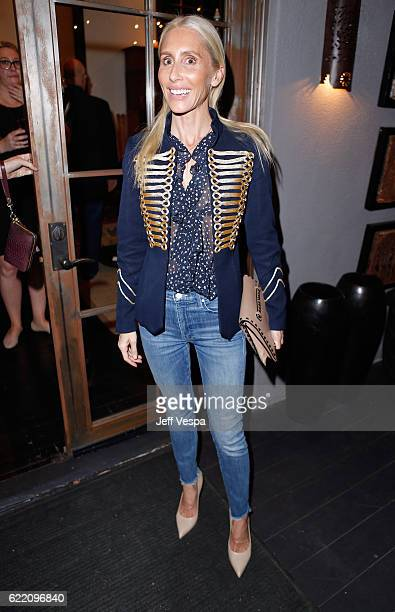 Designer Alexandra Von Furstenberg attends the Urban Zen LA Opening on November 9 2016 in Los Angeles California