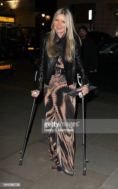 Designer Amanda Wakeley attends the Rodial Beautiful Awards at St Martin's Lane Hotel on March 19 2013 in London England