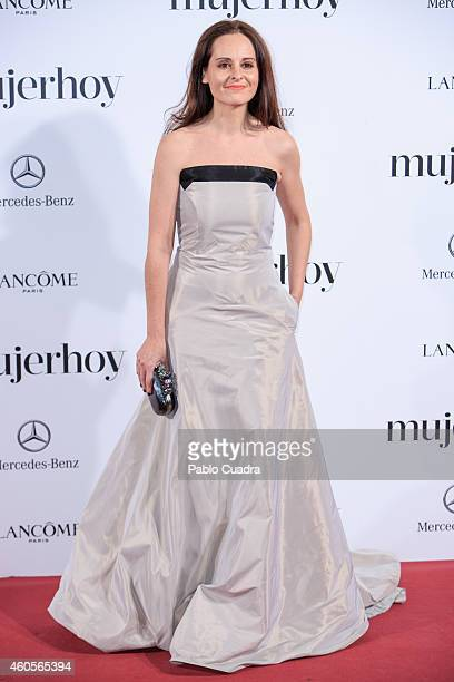 Designer Ana Locking attends 'Mujer Hoy' awards gala at Palace Hotel on December 16 2014 in Madrid Spain