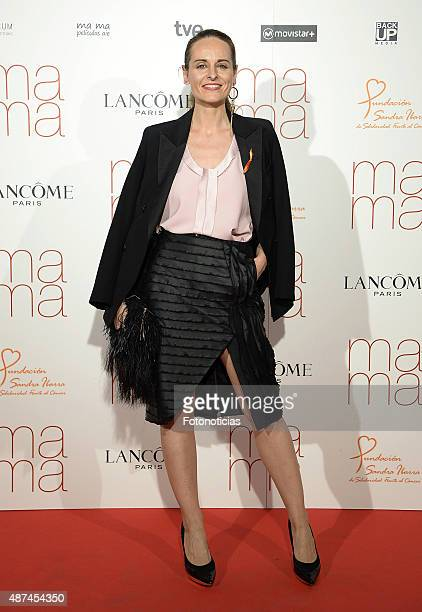 Designer Ana Locking attends the 'Ma Ma' Premiere at the Capitol Cinema on September 9 2015 in Madrid Spain