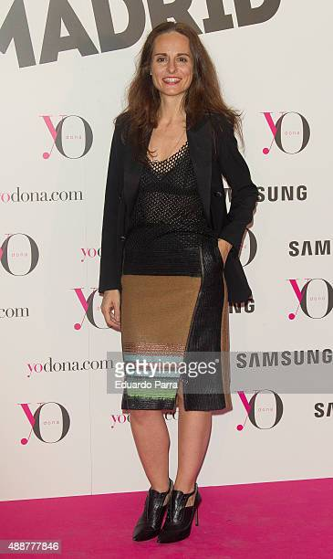 Designer Ana Locking attends 'Yo Dona' party photocall at Eurobuilding hotel on September 17 2015 in Madrid Spain