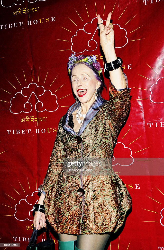 Designer and actress Beatrix Ost attends the 10th annual Tibet House Benefit Auction at Christie's Auction House on December 18, 2012 in New York City.