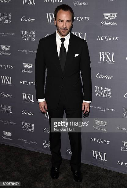 Designer and director Tom Ford attends the WSJ Magazine 2016 Innovator Awards at Museum of Modern Art on November 2 2016 in New York City