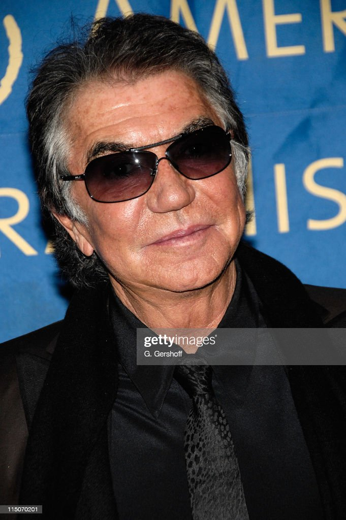 Designer and event honorary chair Roberto Cavalli arrives to the American Museum of Natural History Winter's Dance at the American Museum of Natural...
