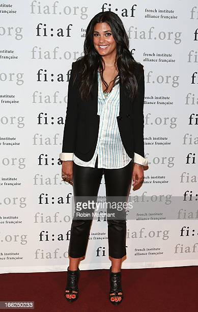 Designer and philanthropist Rachel Roy attends FIAF Presents The Power Of Style at Florence Gould Hall on April 10 2013 in New York City