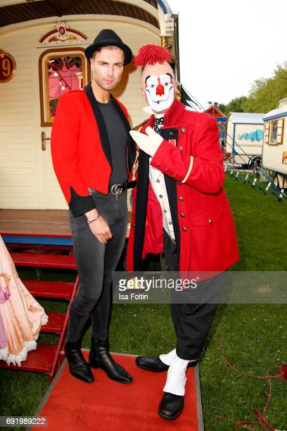 Designer Andre Borchers during the Circus Roncalli Gala Premiere at Moorweide Park on June 3 2017 in Hamburg Germany