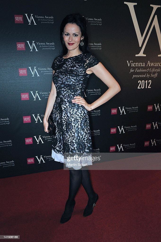 Designer Anelia Peschev attends the Vienna Awards For Fashion & Lifestyle at Museumsquartier on March 26, 2012 in Vienna, Austria.