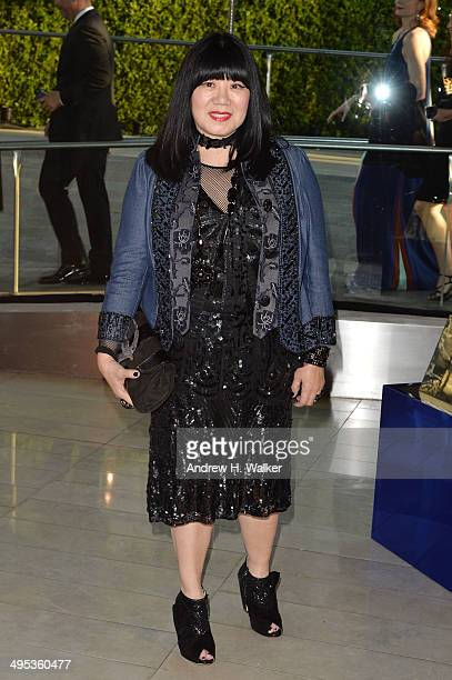 Designer Anna Sui attends the 2014 CFDA fashion awards at Alice Tully Hall Lincoln Center on June 2 2014 in New York City